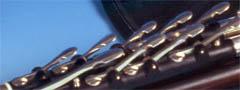 3/4 Set Uilleann Pipes in D, Ebenholz: Vorschaubild